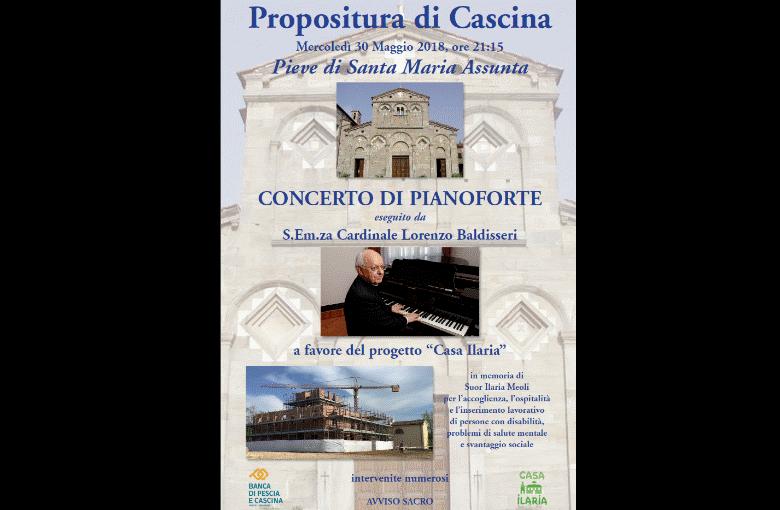 Concerto di pianoforte per Casa Ilaria