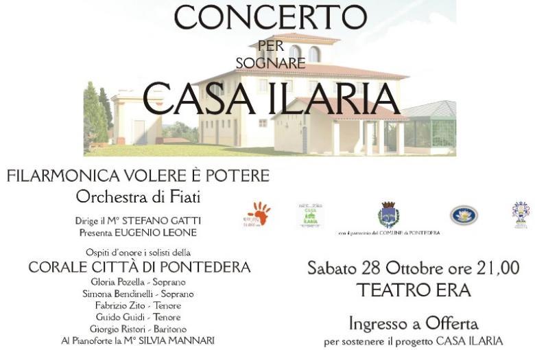 """Concerto per """"sognare Casa Ilaria"""""""