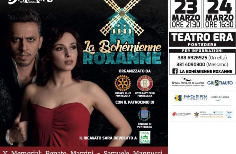 """Serata spettacolo """"La Bohémienne Roxanne"""" per Casa Ilaria"""