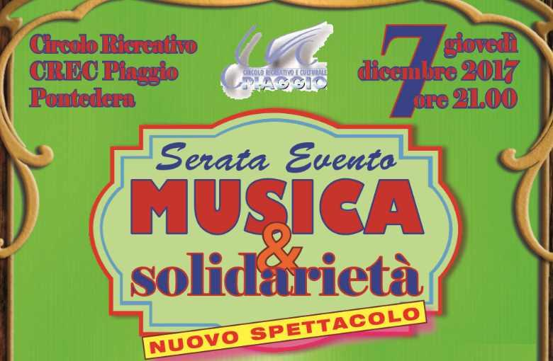Serata evento Musica e Solidarietà