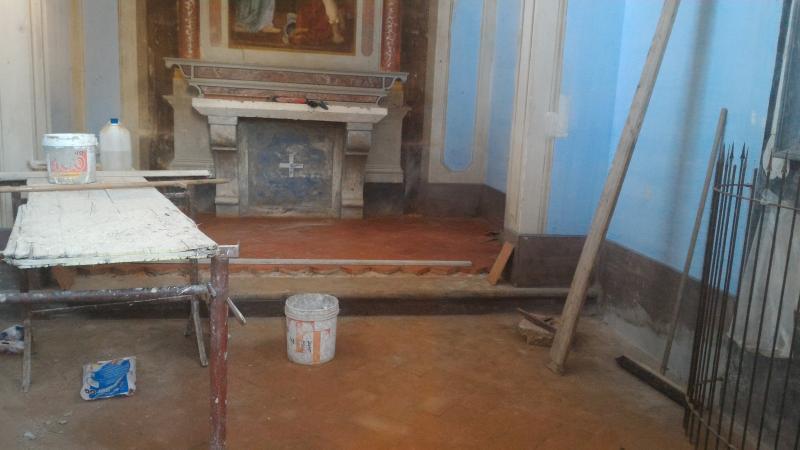 Restauro interno della cappella dei Santi Ippolito e Cassiano