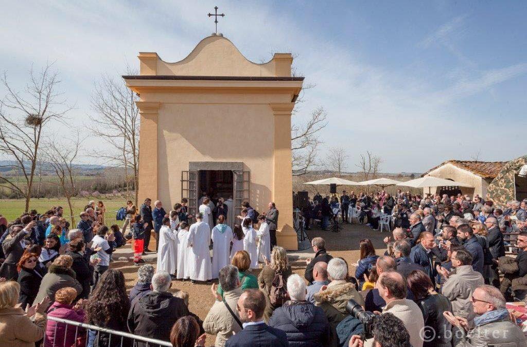 Inaugurazione della Cappella dei Santi Ippolito e Cassiano