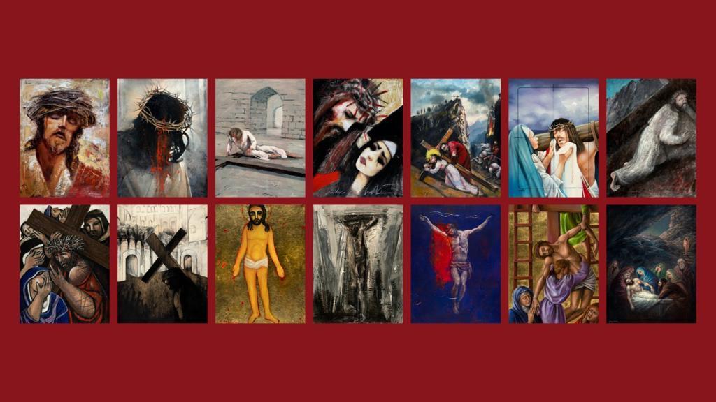 La Passione di Cristo in 14 opere contemporanee