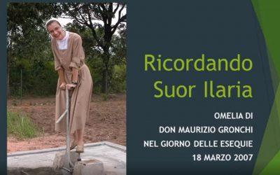 Omelia di don Maurizio Gronchi nel giorno delle esequie